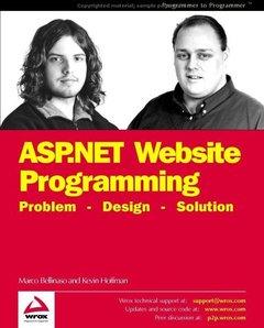 Professioanl ASP.NET Website Programming: Problem - Design - Solution (Paperback)-cover
