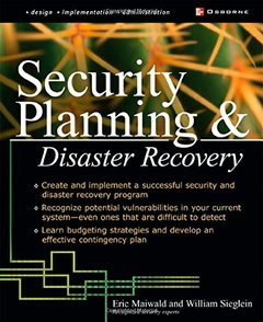 Security Planning & Disaster Recovery-cover
