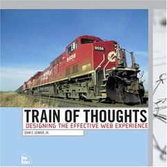 Train of Thoughts: Designing the Effective Web Experience-cover