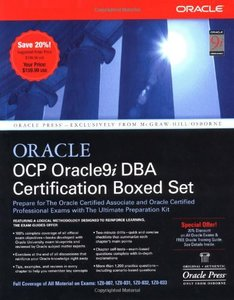 OCP Oracle9i DBA Certification Boxed Set-cover