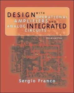 Design with Operational Amplifiers and Analog Integrated Circuits, 3/e-cover