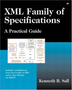 XML Family of Specifications: A Practical Guide-cover