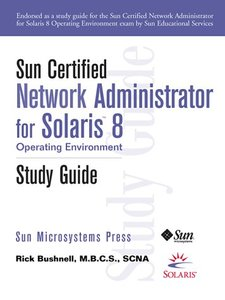 Sun Certified Network Administrator for Solaris 8 Operating Environment-cover
