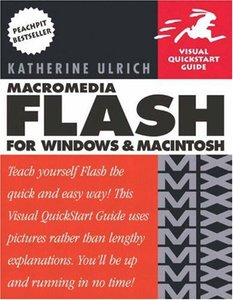Macromedia Flash MX for Windows and Macintosh (Paperback)-cover