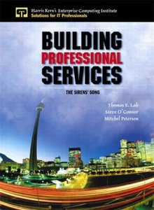 Building Professional Services: The Sirens' Song-cover