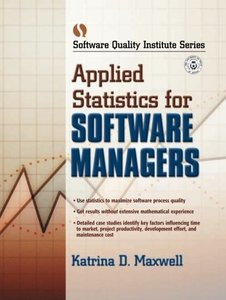 Applied Statistics for Software Managers-cover