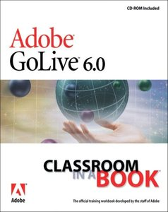 Adobe GoLive 6.0 Classroom in a Book-cover