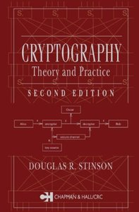 Cryptography: Theory and Practice, 2/e-cover