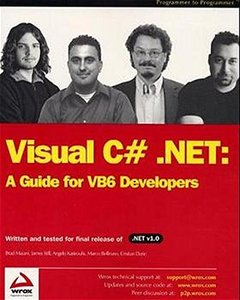 Visual C# .NET: A Guide for VB6 Developers-cover