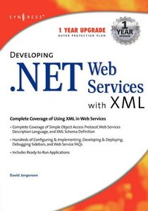 Developing .Net Web Services with XML-cover