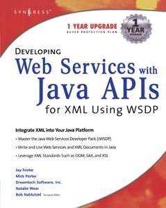 Developing Web Services with Java APIs for XML-cover