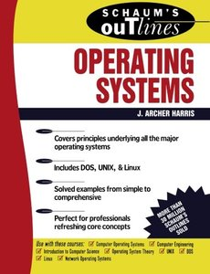 Schaum's Outline of Operating Systems-cover