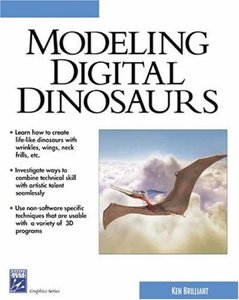 Modeling Digital Dinosaurs-cover