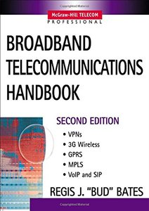 Broadband Telecommunications Handbook, 2/e-cover