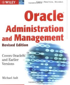 Oracle Administration and Management-cover