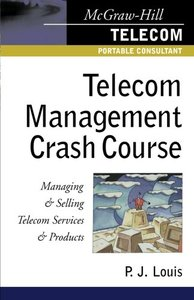 Telecom Management Crash Course: A Telecom Company Survival Guide-cover