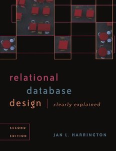 Relational Database Design Clearly Explained, 2/e (Paperback)-cover