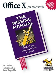 Office X for Macintosh: The Missing Manual-cover