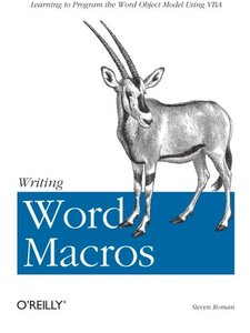 Writing Word Macros-cover