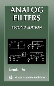Analog Filters, 2/e (Hardcover)-cover