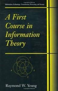 A First Course in Information Theory (Hardcover)-cover