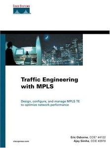 Traffic Engineering with MPLS [Hardcover]-cover