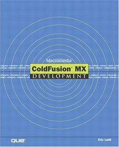 Macromedia ColdFusion MX Development (Paperback)-cover