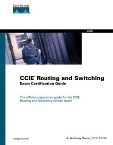 CCIE Routing and Switching Exam Certification Guide (Hardcover)-cover