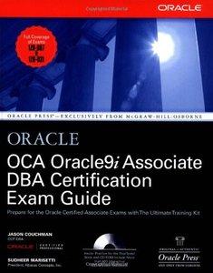 OCA Oracle9i Associate DBA Certification Exam Guide-cover