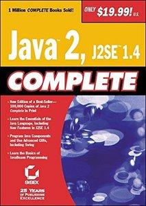 Java 2, J2SE 1.4 Complete (Paperback)-cover