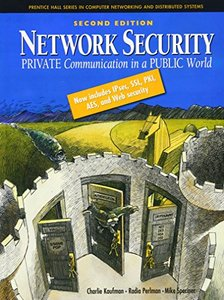 Network Security: Private Communication in a Public World, 2/e (Hardcover)-cover
