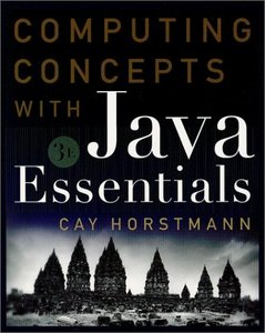 Computing Concepts With Java Essentials, 3/e-cover