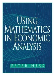 Using Mathematics in Economic Analysis-cover