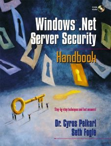 Windows .Net Server Security Handbook (Paperback)-cover