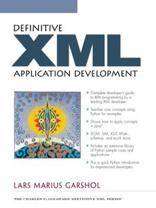 Definitive XML Application Development-cover