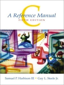 C: A Reference Manual, 5/e (Paperback)-cover