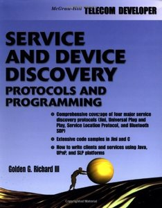 Service and Device Discovery: Protocols and Programming-cover