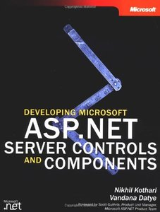 Developing Microsoft ASP.NET Server Controls and Components-cover