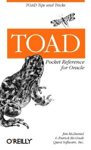 TOAD Pocket Reference for Oracle-cover