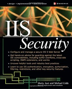 IIS Security (Paperback)-cover