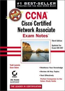 CCNA: Cisco Certified Network Associate Exam Notes, 3/e (Paperback)-cover