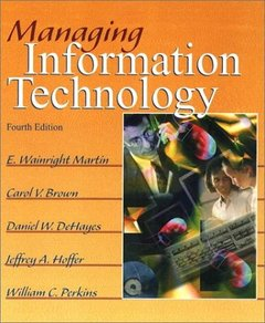 Managing Information Technology, 4/e-cover