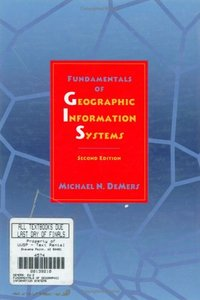 Fundamentals of Geographic Information Systems, 2/e-cover