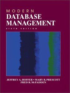 Modern Database Management, 6/e (精裝)-cover