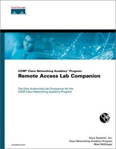 CCNP Cisco Networking Academy Program: Remote Access Lab Companion-cover