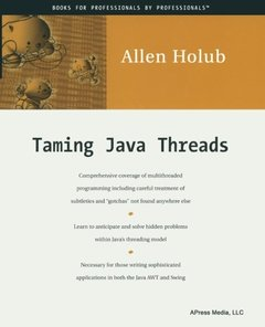 Taming Java Threads (Paperback)-cover