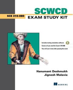 SCWCD Exam Study Kit: Java Web Component Developer Certification (Paperback)-cover