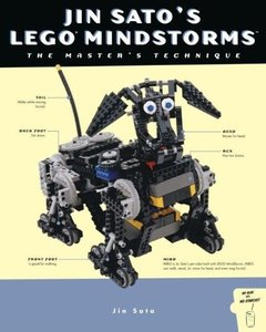 Jin Sato's Lego Mindstorms: The Master's Technique-cover