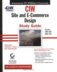 CIW: Site and E-Commerce Design Study Guide (Hardcover)-cover