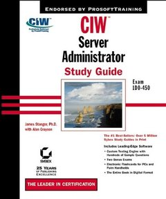 CIW: Server Administrator Study Guide Exam 1D0-450 (Hardcover)-cover